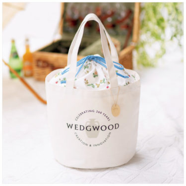 【Nationwide】The bonus of the magazine is gorgeous! Wedgewood 260th Anniversary Logo Bag and Seven Eleven Limited Pouch.