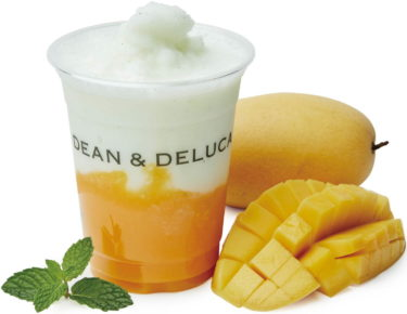 "【Shin Osaka/ Itami/ Shinsaibashi】New ""yellow"" drinks such as mango frappe and gold kiwi juice will be released from DEAN & DELUCA."