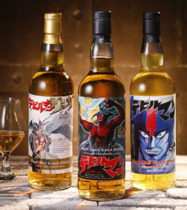 """【Online Shopping】Limited to 477! Scotch Whiskey Launched with """"Devilman"""" Label."""