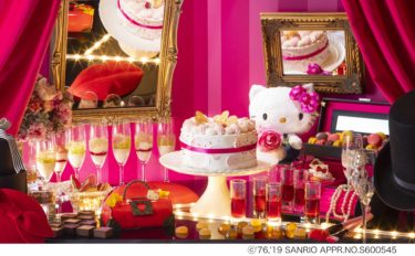 【Hilton Osaka】A cute anniversary buffet with Hello Kitty will be held in summer only!