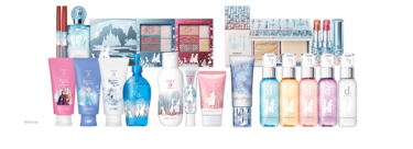 【Shopping】Shiseido×Frozen collaboration! Limited cosmetics have been released.