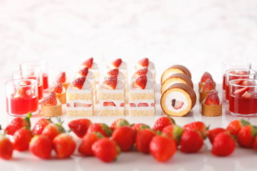 """【Hotel New Otani】""""Sweets & sandwich buffet-strawberry picking at the new hotel"""" will be held, where you can collaborate with Pierre Hermé and compare shortcakes."""