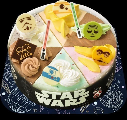 Super Nationwidelimited Edition Of Star Wars Ice Cream Cake Will Be Funny Birthday Cards Online Elaedamsfinfo