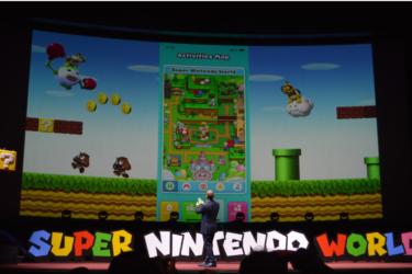 【Sneak a peek】New technology introduced in USJ Nintendo area.