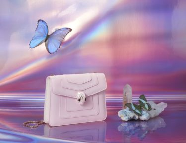"""【Shopping / Japan limited!】Insanely rare! The """"Cherry blossom Color"""" exclusive to Japan will appear in the BVLGARI """"Serpenti"""" bag."""