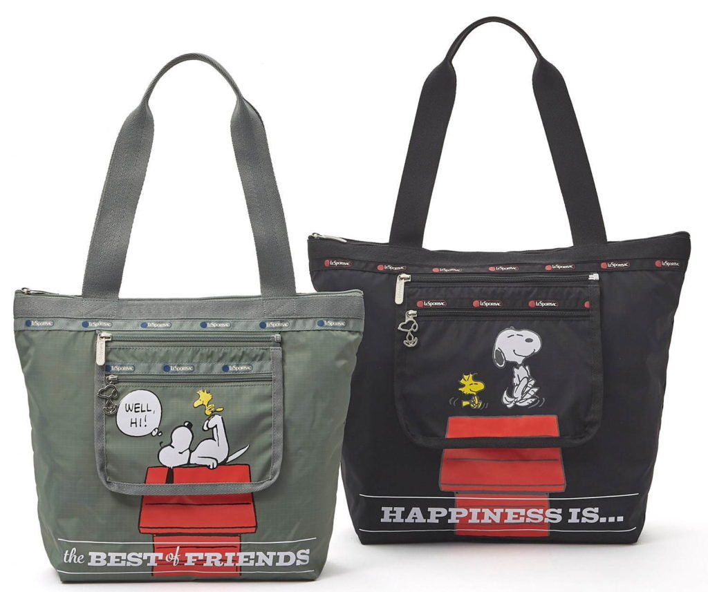 Cute Snoopy /& Woodstock Crossbody Bag Suitcase Style Clutch Travel Casual Bags