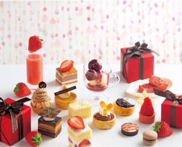 """【Imperial Hotel Osaka】""""Strawberry Sweets Viking -Imperial Celebration-"""" will begin on March 12 for a limited time!"""