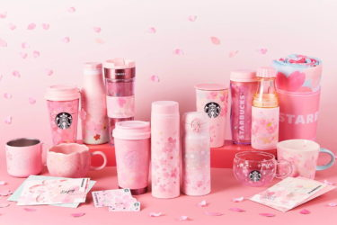 "【Starbucks】A new SAKURA series 2020 will be released from February 15 including a tumbler and mug depicting ""Sakura (Cherry blossom)""."