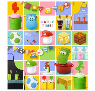 """【Souvenir Idea】""""Super Mario"""" block and mushroom-shaped chocolate trays and clay tube muffin cups are on sale!"""