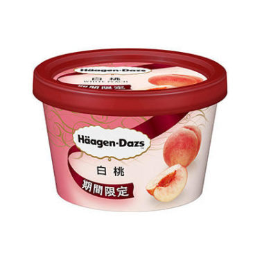 """【On Sale Today!】Häagen-Dazs releases a limited-time """"white peach""""!"""