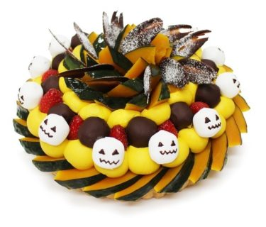"""【Tenmabashi, Moriguchi】 Halloween Limited Cake"""" is now on sale at Cafe comme ca."""