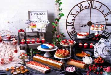 【Conrad Osaka】 The Strawberry Sweets Buffet will start on January 12 for a limited time only!