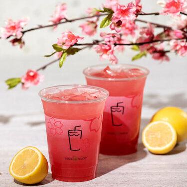 "【Umeda / Shinsaibashi】 Enjoy the arrival of spring with Shake Shack's ""Sakura Lemonade"" and ""Sakura Shake""!"